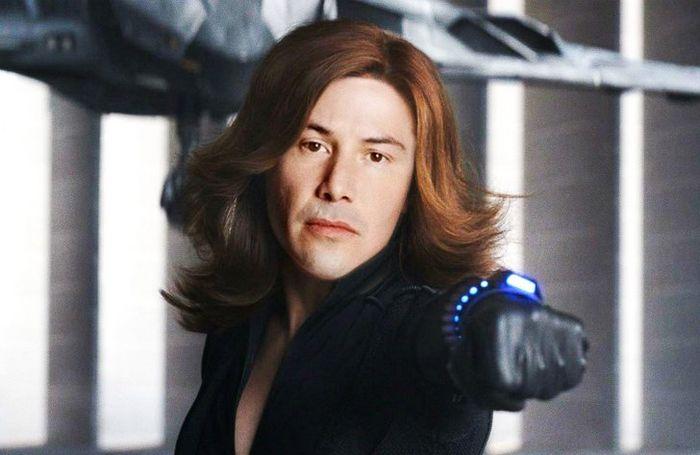 Como seria Keanu Reeves interpretando personagens em outros filmes de super-heróis (20 fotos) 17