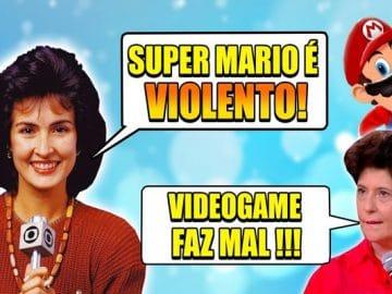 Momentos vergonha alheia: Games na TV! 3