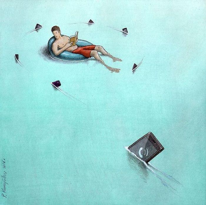 Artista polonês cria 35 metáforas surpreendentemente precisas sobre nossa sociedade moderna 35