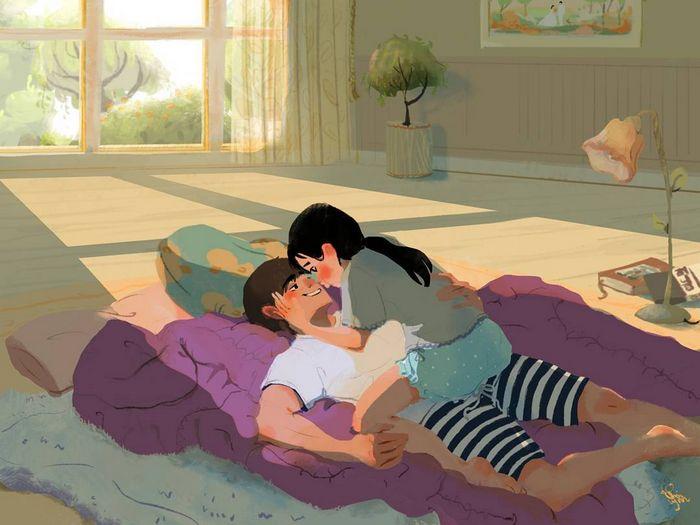 16 coisas que somente os casais apaixonados fazem 5