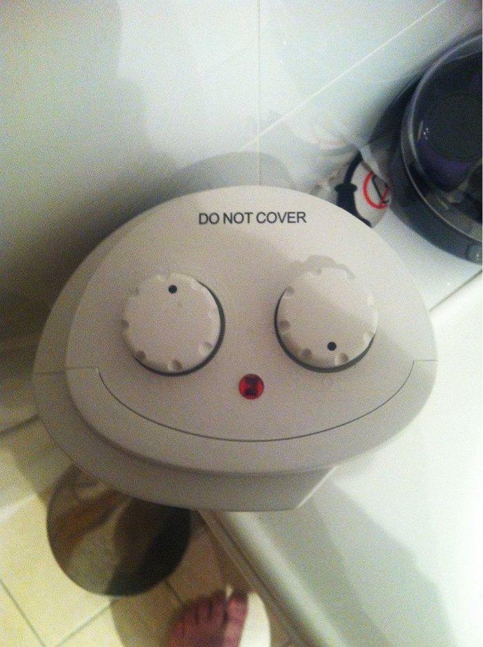 Você consegue ver rostos de bêbados nesses objetos inanimados? 8