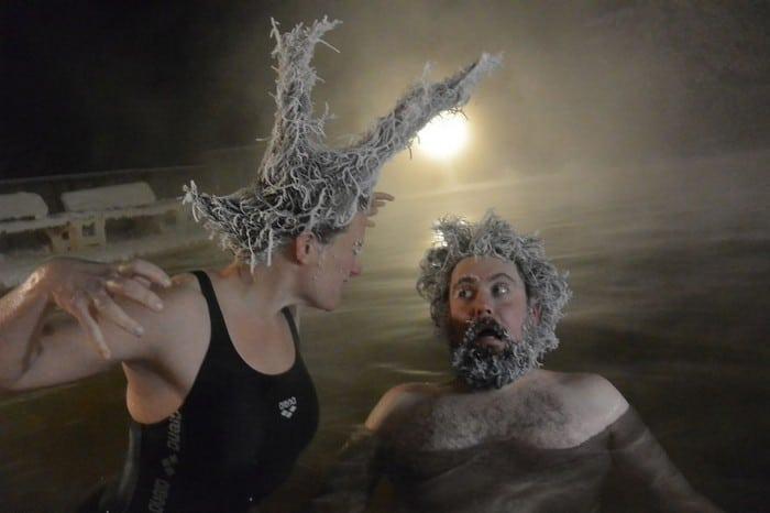 O Canadá tem uma competição anual de congelamento de cabelos e as fotos deste ano são loucas (35 fotos) 16