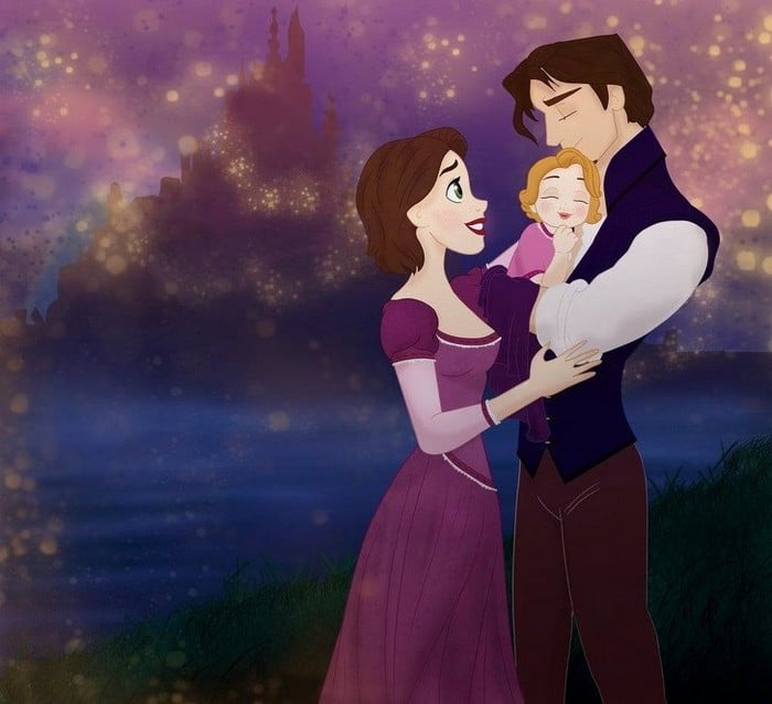18 casais da Disney se eles tivessem filhos 4