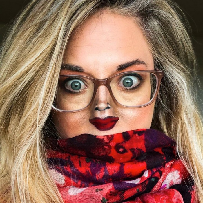 Esta pequena maquiagem para o rosto é a solução perfeita para uma máscara de coronavírus (37 fotos) 35