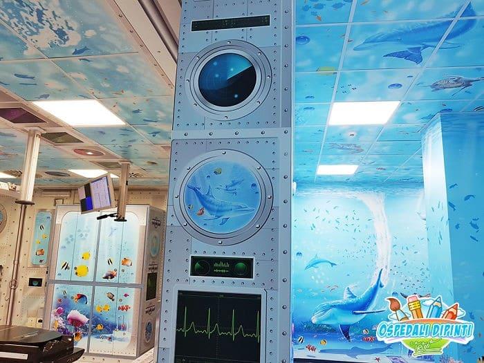 34 fotos de belos murais em hospitais do artista italiano que ajudam crianças e adultos 11