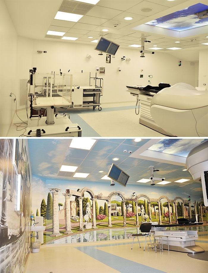 34 fotos de belos murais em hospitais do artista italiano que ajudam crianças e adultos 15