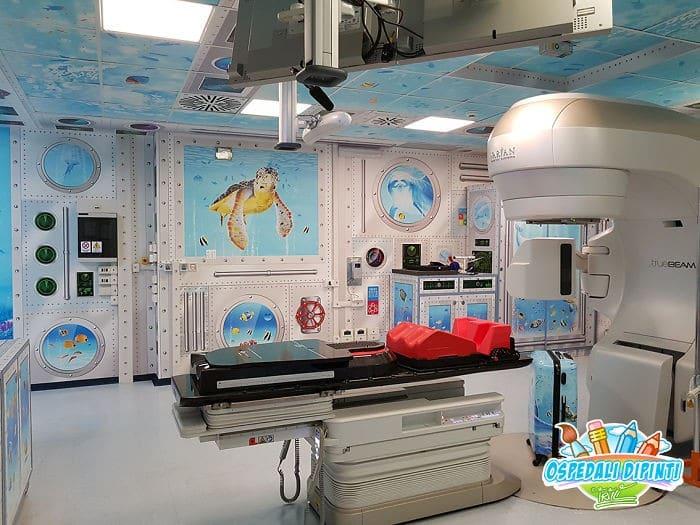 34 fotos de belos murais em hospitais do artista italiano que ajudam crianças e adultos 19