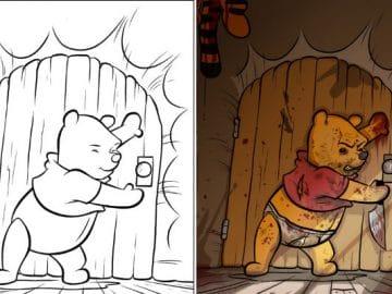 O que acontece quando adultos resolvem colorir livro de crianças (27 fotos) 2
