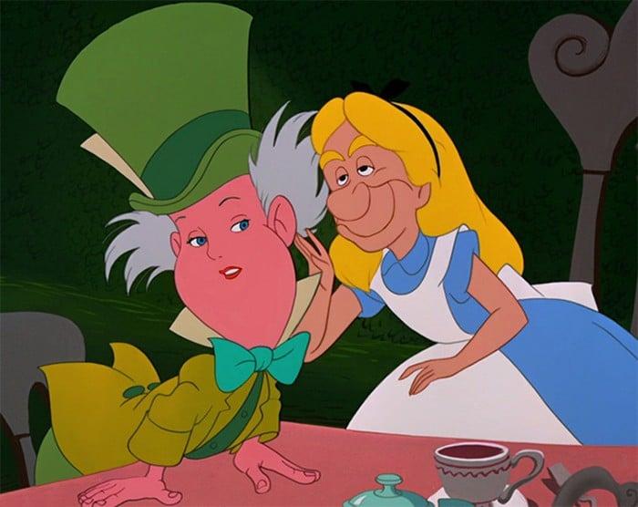 O que acontece quando você trocar os rostos de personagens de desenhos da Disney (23 fotos) 7