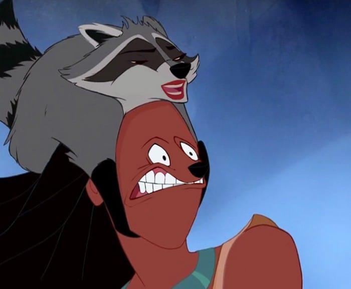 O que acontece quando você trocar os rostos de personagens de desenhos da Disney (23 fotos) 8