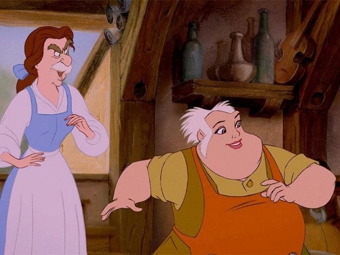 O que acontece quando você trocar os rostos de personagens de desenhos da Disney (23 fotos) 13