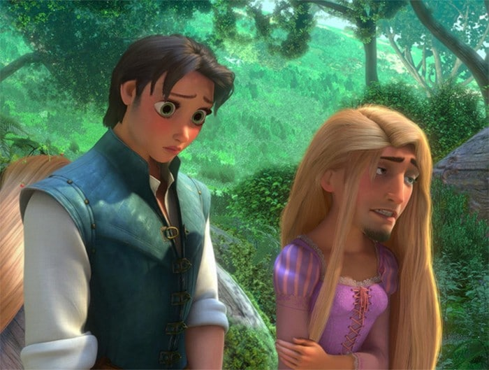 O que acontece quando você trocar os rostos de personagens de desenhos da Disney (23 fotos) 17