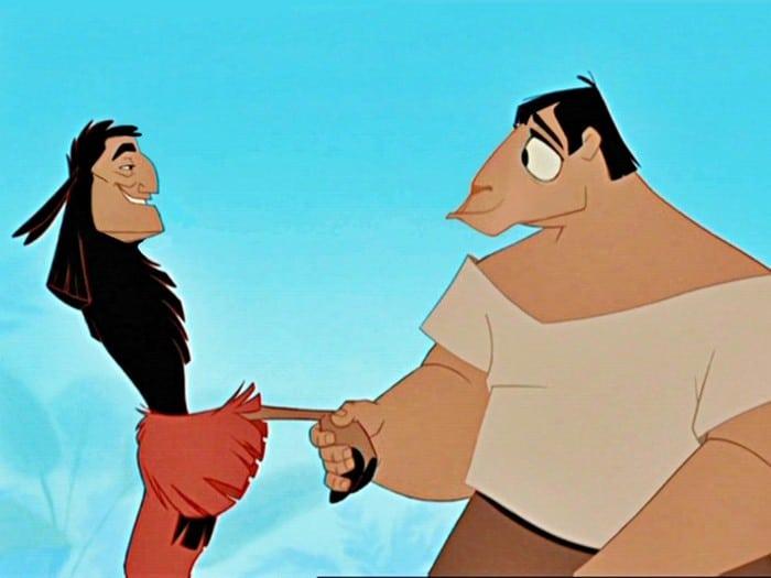 O que acontece quando você trocar os rostos de personagens de desenhos da Disney (23 fotos) 21