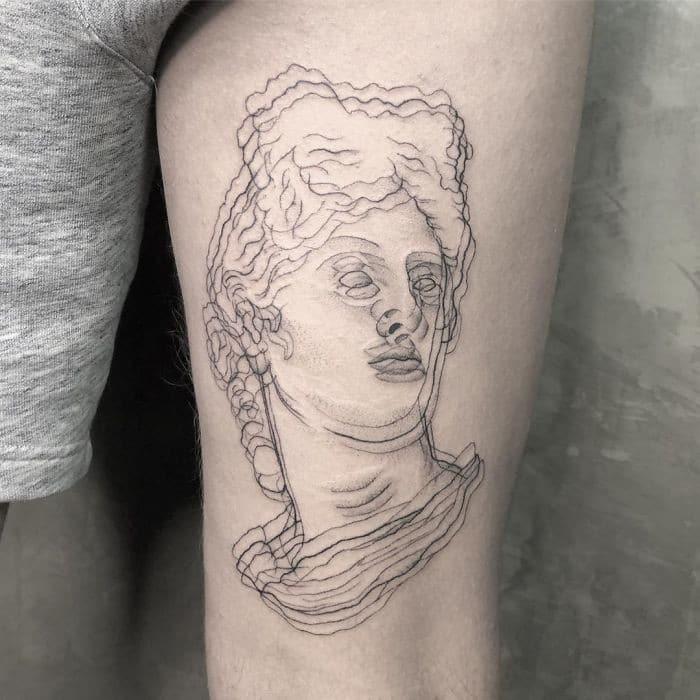 As tatuagens de ilusão de ótica da mexicana Yatzil Elizalde (23 fotos) 7
