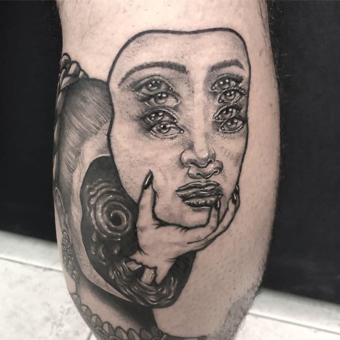As tatuagens de ilusão de ótica da mexicana Yatzil Elizalde (23 fotos) 15