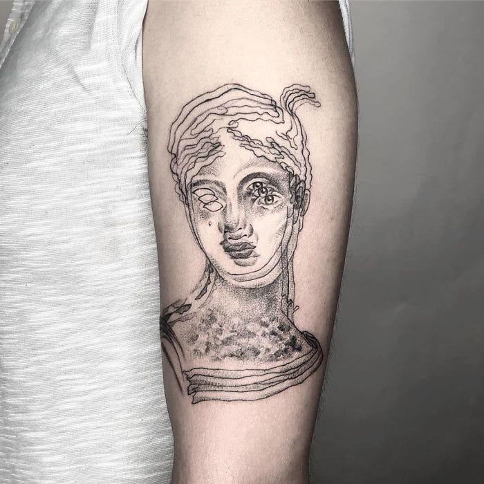 As tatuagens de ilusão de ótica da mexicana Yatzil Elizalde (23 fotos) 21