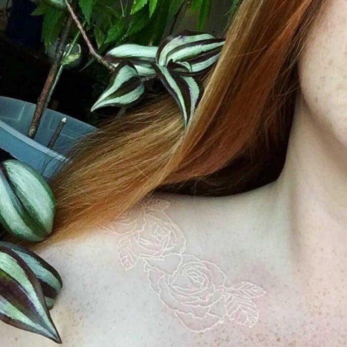 24 tatuagens que provam que o branco é o novo preto 3