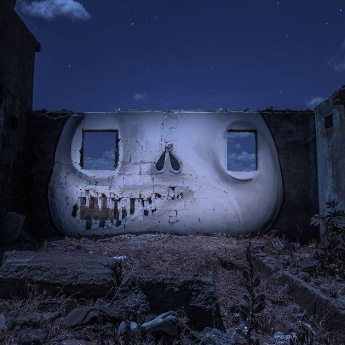 Artista sul-africano pinta grafites incríveis que interagem com o ambiente (32 fotos) 15