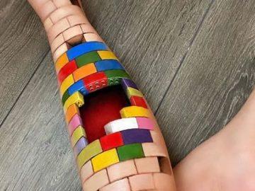 Maquiadora criar ilusões de ótica incrível em pernas e braços (30 fotos) 21