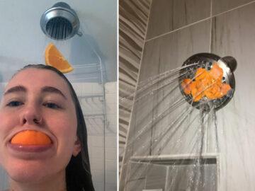 Existe uma comunidade online feita para pessoas que gostam de tomar banho de laranjas 3