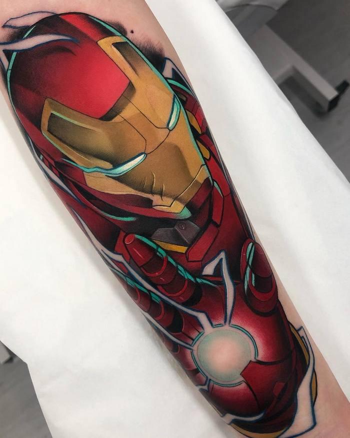 25 tatuagens para quem quer usar seus personagens favoritos na pele 13