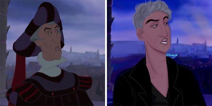 Artista reimagina personagens da Disney como mulheres e homens modernos 20