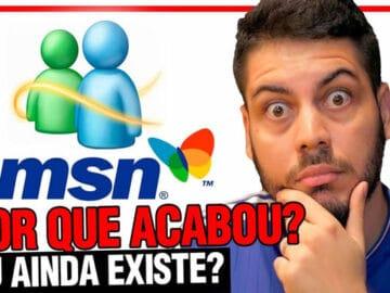 História do MSN! Por que o maior sucesso da Microsoft acabou? 6
