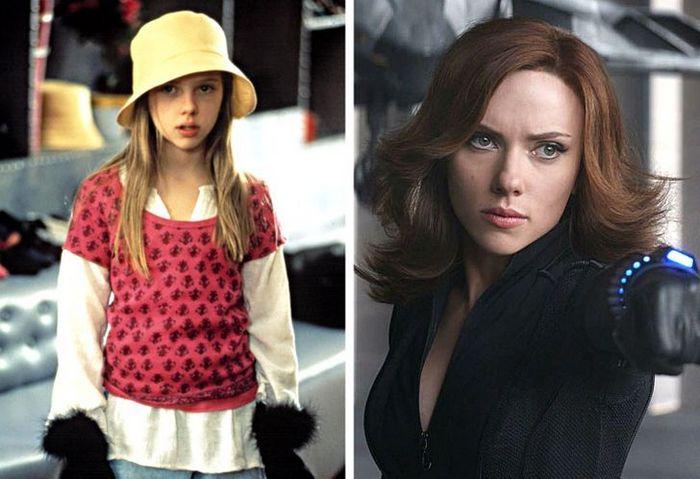 24 antes e depois da aparência de celebridades famosas de Hollywood 6