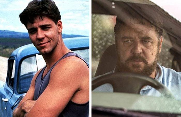 24 antes e depois da aparência de celebridades famosas de Hollywood 11