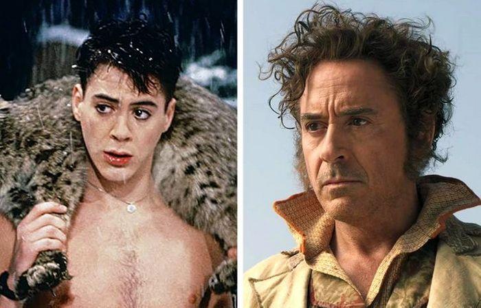 24 antes e depois da aparência de celebridades famosas de Hollywood 12