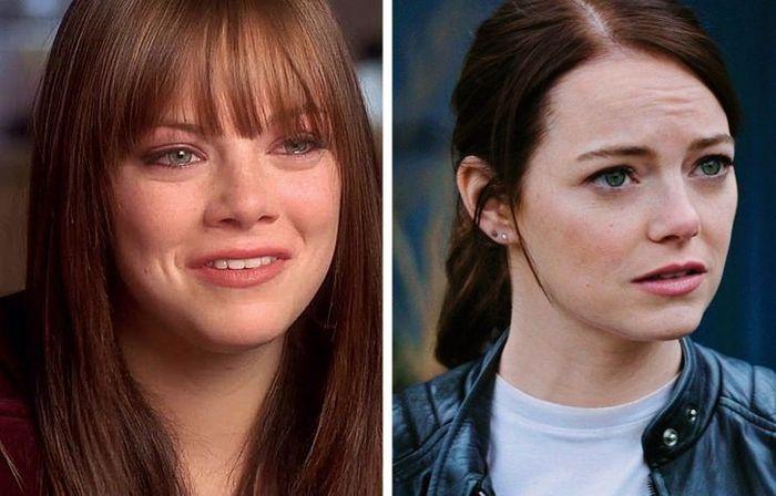 24 antes e depois da aparência de celebridades famosas de Hollywood 25