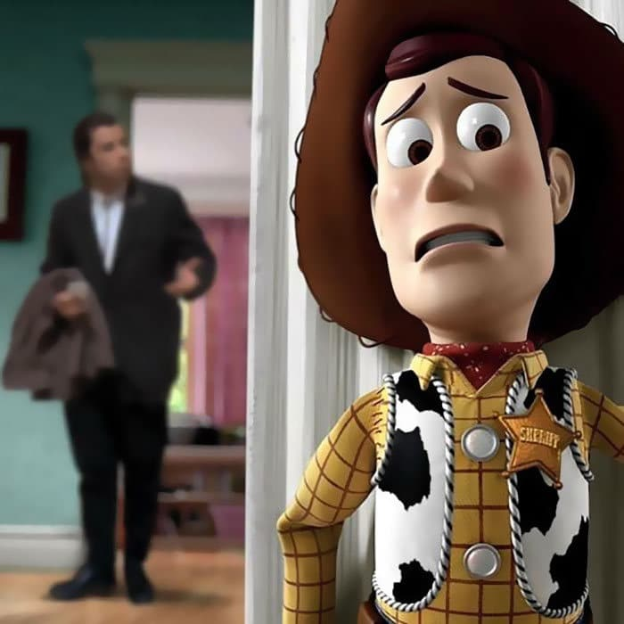 Artista cria edições hilárias de personagens em situações às quais eles não pertencem 40