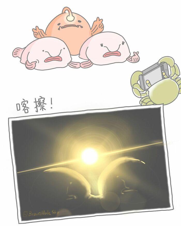 Artista taiwanês ilustra personagens fofinhos em situações engraçadas 40