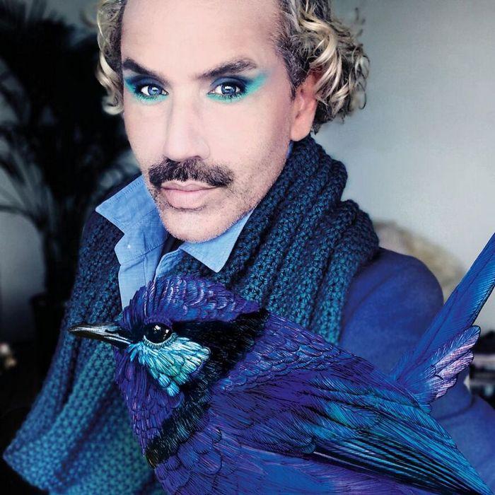 Eu crio estes looks de moda e maquiagem inspirados nos pássaros que desenho 14