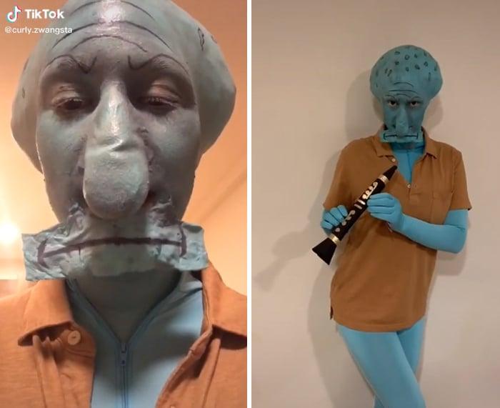 37 fantasias de Halloween incríveis que viralizou no Tiktok 32
