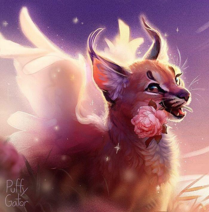 Artista cria ilustrações fofas de animais selvagens e animais de estimação 25