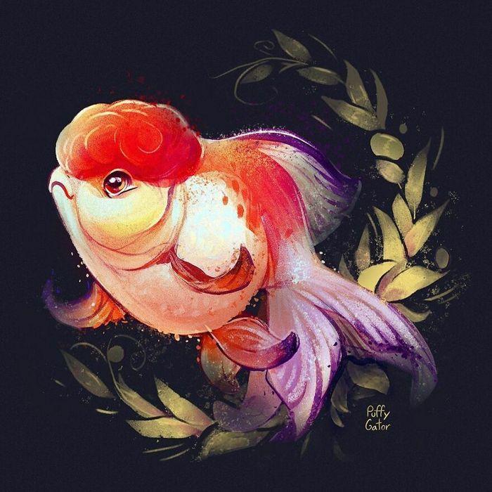Artista cria ilustrações fofas de animais selvagens e animais de estimação 31