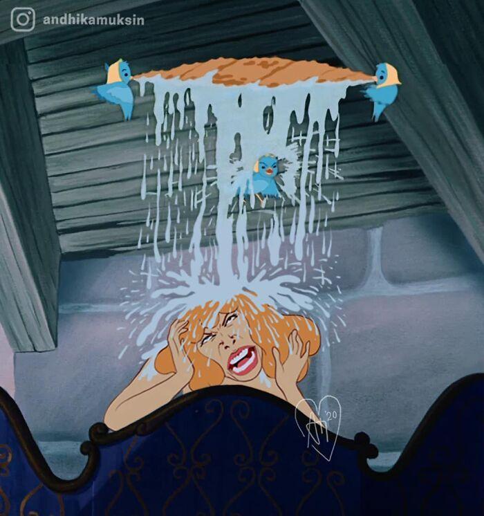 Artista reimagina personagens da Disney de uma maneira mais realista 4