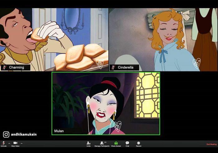 Artista reimagina personagens da Disney de uma maneira mais realista 9