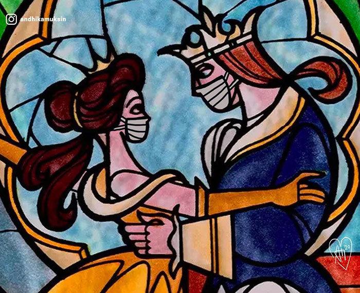 Artista reimagina personagens da Disney de uma maneira mais realista 18