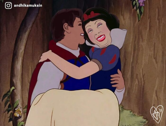 Artista reimagina personagens da Disney de uma maneira mais realista 25
