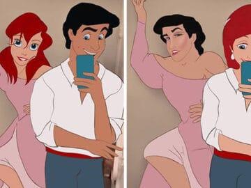 Artista reimagina personagens da Disney de uma maneira mais realista 3