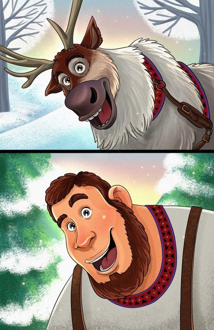 Como seriam 15 animais da Disney se fossem humanos 10