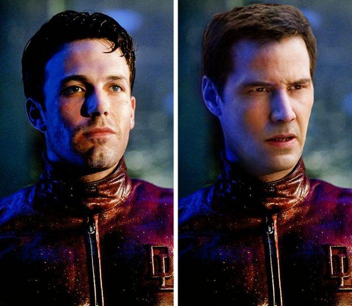 Como seriam os 12 super-heróis se fossem interpretados por Keanu Reeves 3