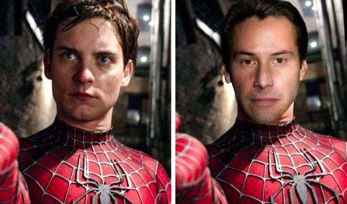 Como seriam os 12 super-heróis se fossem interpretados por Keanu Reeves 6