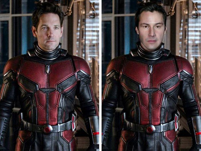 Como seriam os 12 super-heróis se fossem interpretados por Keanu Reeves 8