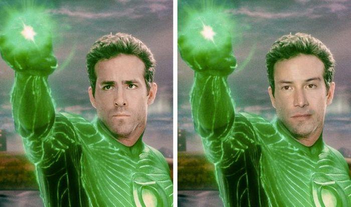 Como seriam os 12 super-heróis se fossem interpretados por Keanu Reeves 10