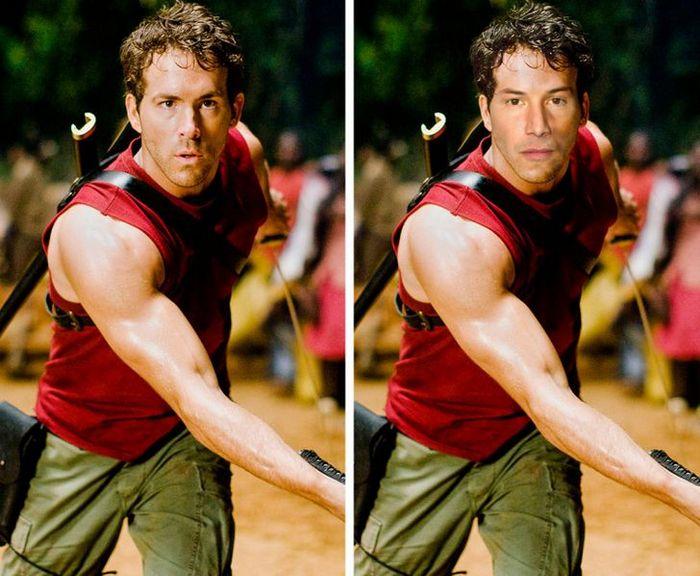 Como seriam os 12 super-heróis se fossem interpretados por Keanu Reeves 12