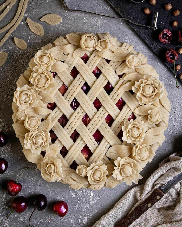 Mulher faz tortas lindas que roubariam a cena em todas as mesas 7