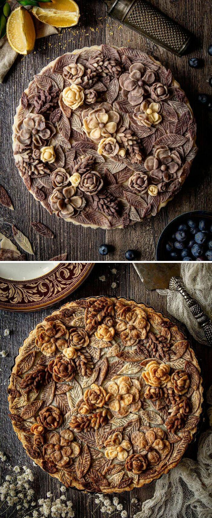 Mulher faz tortas lindas que roubariam a cena em todas as mesas 25